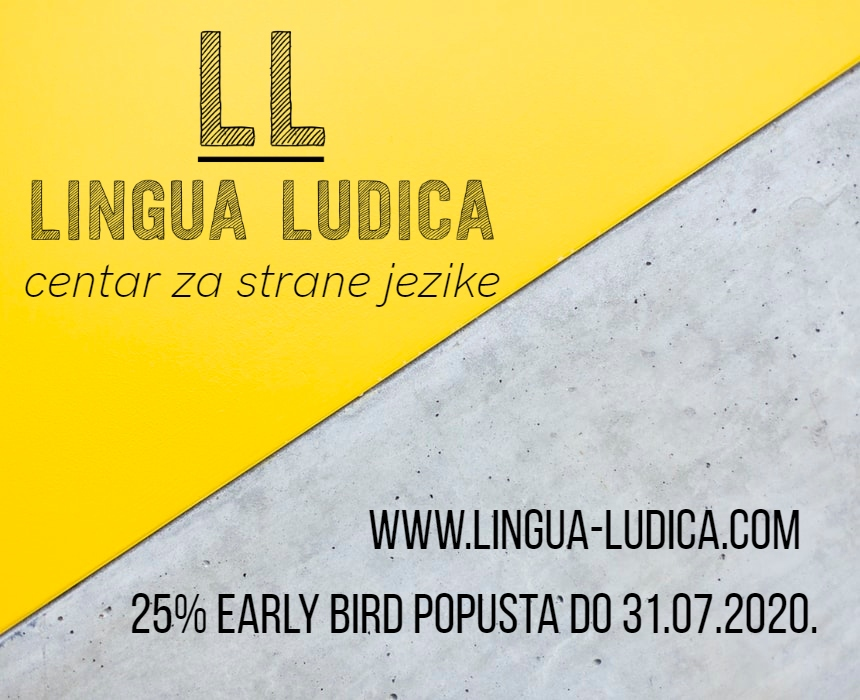 Early bird popusti do kraja srpnja 2020.!