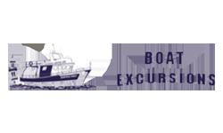 Boat excursions, tour, trips, Ausfluge, gite, Taxi Boat, rent a boat, adventure