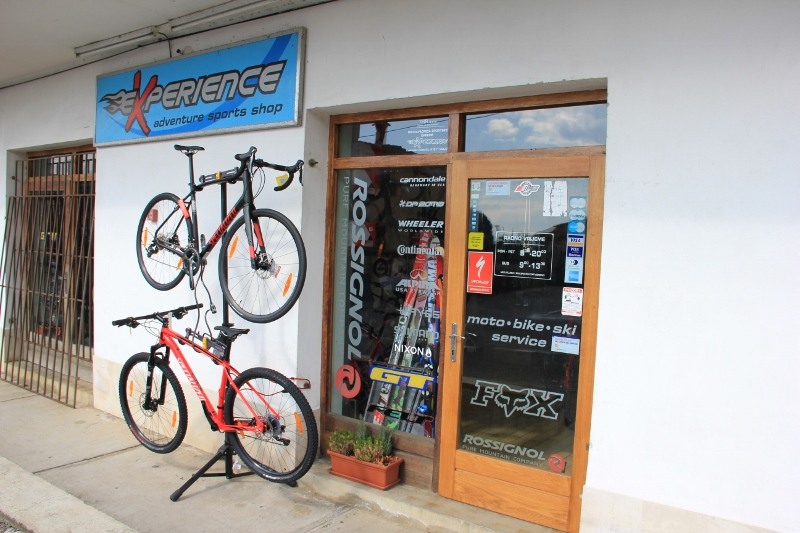 EXPERIENCE - ADVENTURE SPORTS SHOP