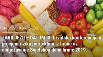 3. hrvatska konferencija o procjeni rizika porijeklom iz hrane