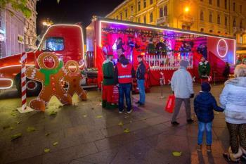 Coca-Cola blagdanski kamion stiže u Rijeku