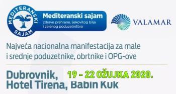 Izlagači, prijavite se na 17. Mediteranski sajam zdrave prehrane, ljekovitog bilja i zelenog poduzetništva