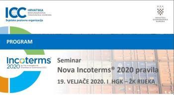 Seminar: Nova Incoterms 2020 pravila