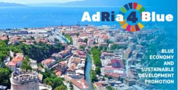 Prijavite se na konferenciju AdRia4Blue: Promocija plavoga gospodarstva i održivog razvoja