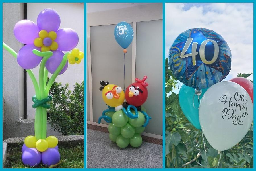Baloni za rođendane, Rijeka, Baloni Miryam
