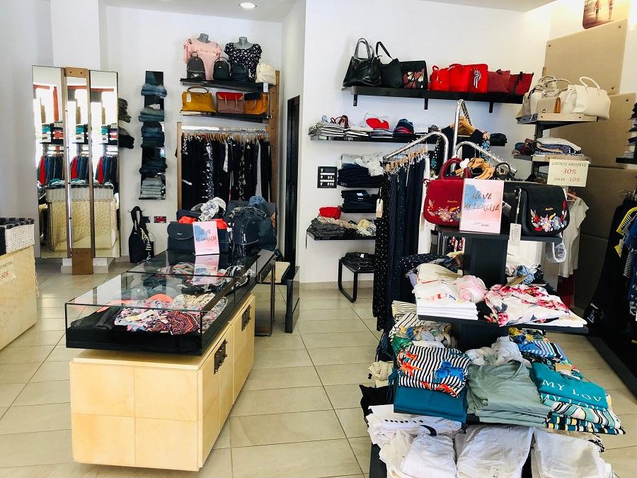Clothing store Losinj, Trgovina Domi