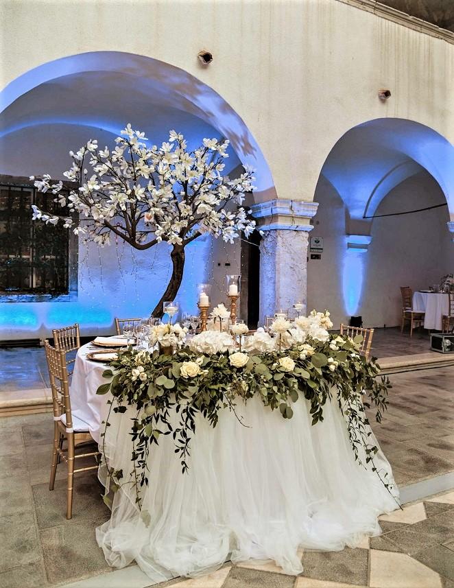 Dekoracija vjenčanja, Rijeka