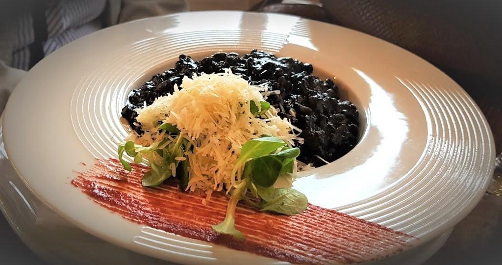 Crni rižot, konoba Ulika, Selce