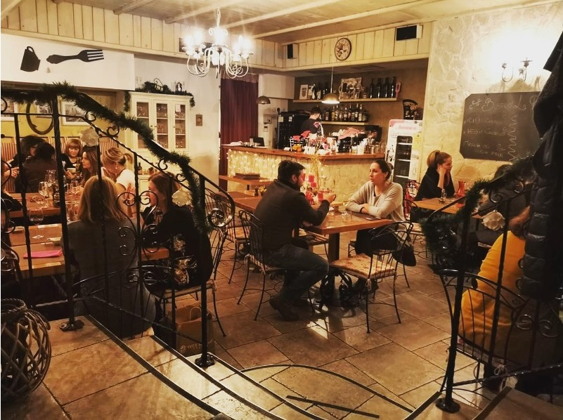 Romantični restoran Rijeka bistro La Rose