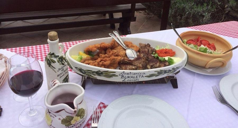 Best lamb on Cres, konoba Bukaleta