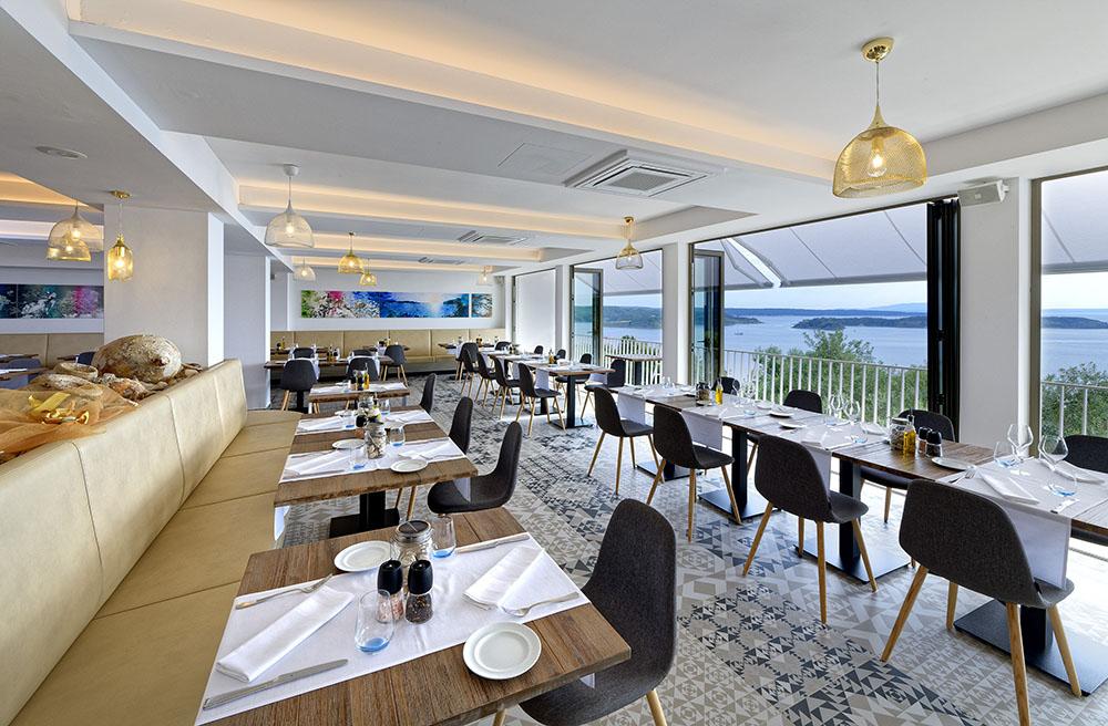 Mediterranean restaurant, Rab