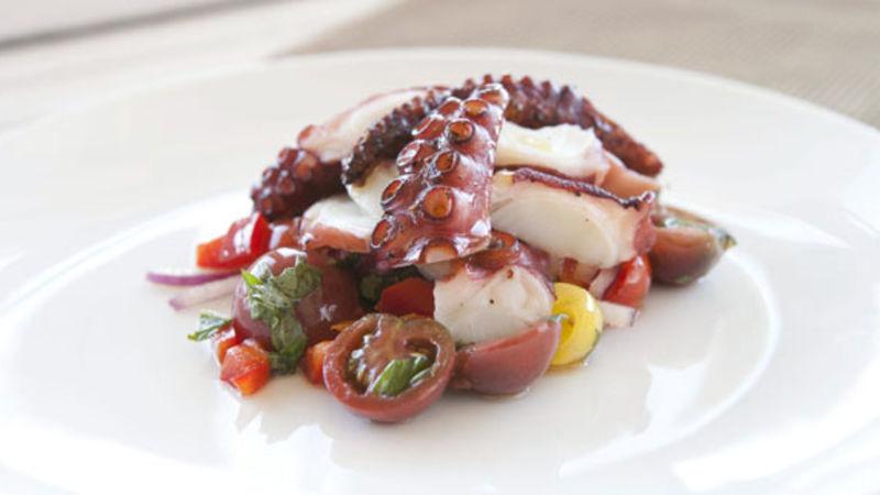 Salata od hobotnice Krk