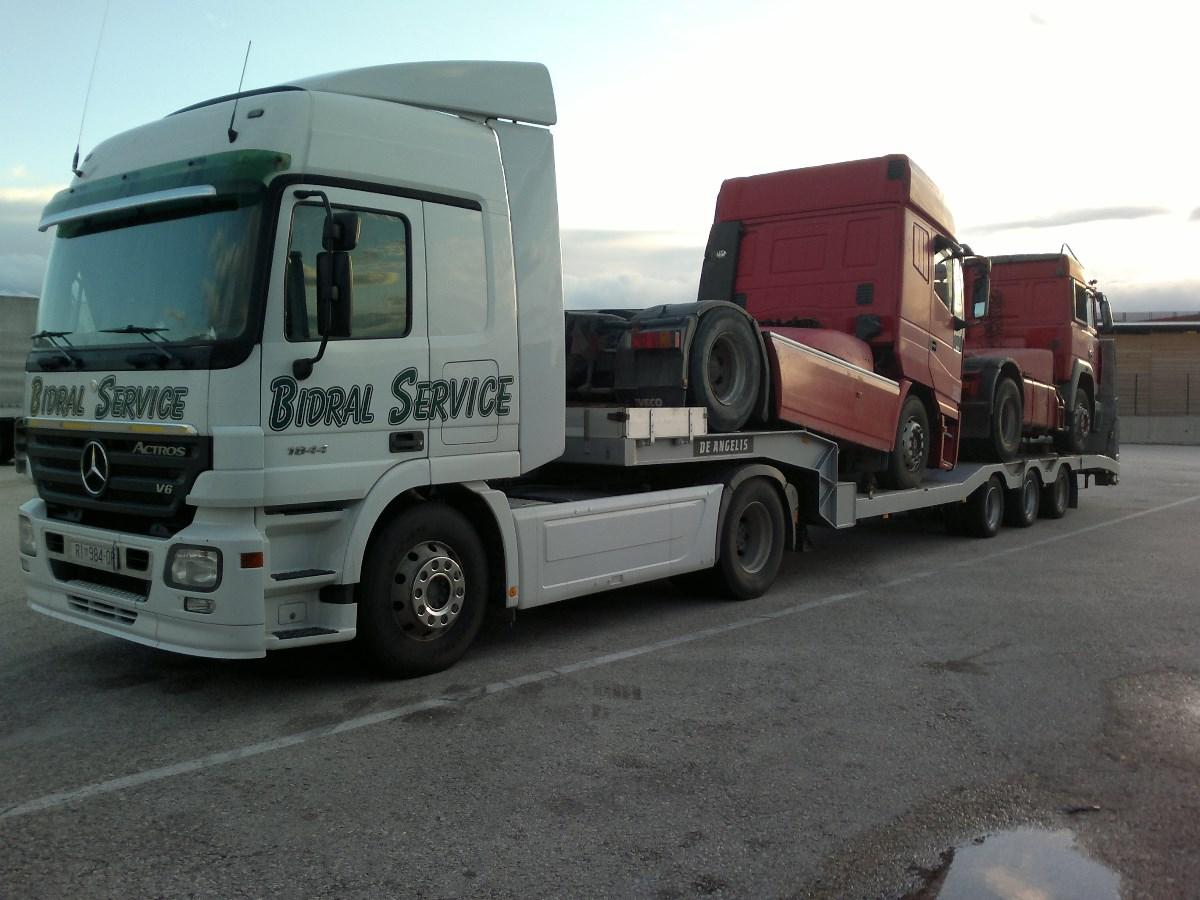 Bidral kamion labudica Rijeka