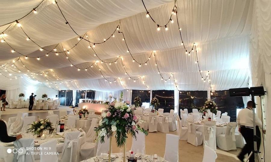 Organizacija vjenčanja, šatori za vjenčanja