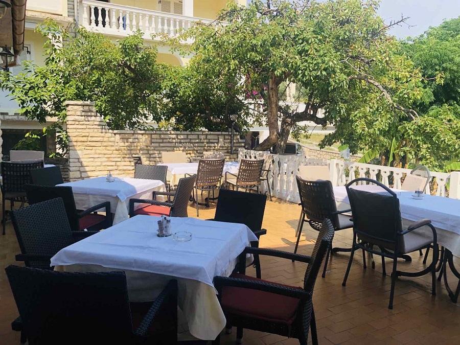 Terrace restaurant Eufemija Rab