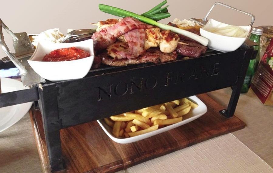 Roštilj plate za dvoje Rijeka restoran Nono Frane