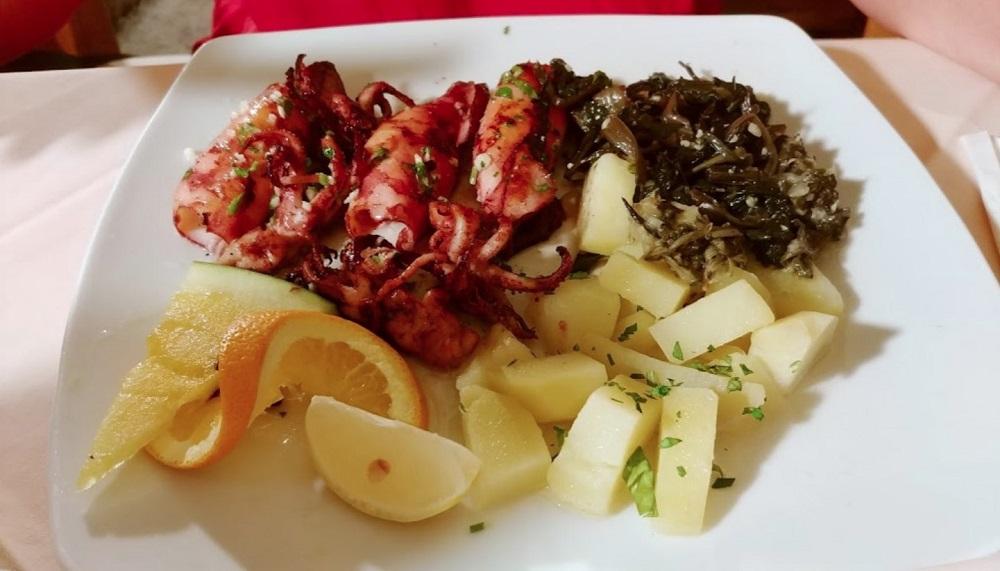 Sea food restaurant Dupin, Kampor
