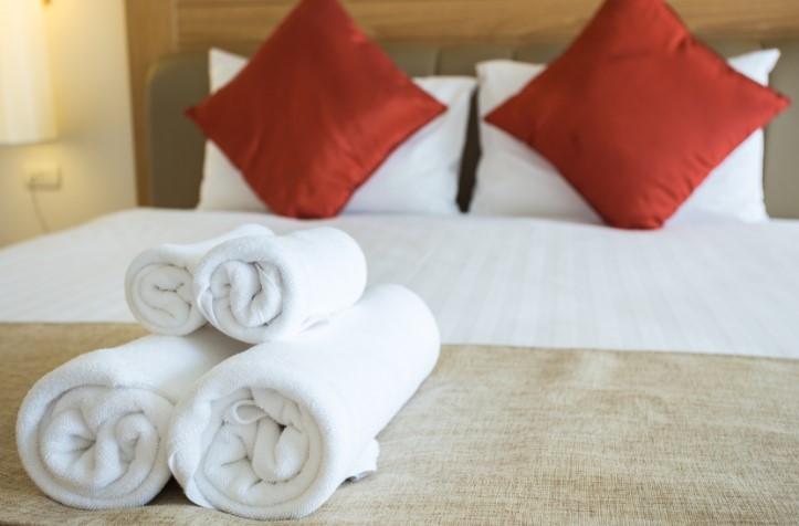 Ručnici i posteljina za hotele i apartmane Rijeka, Krk, Gorski kotar, Crikvenica