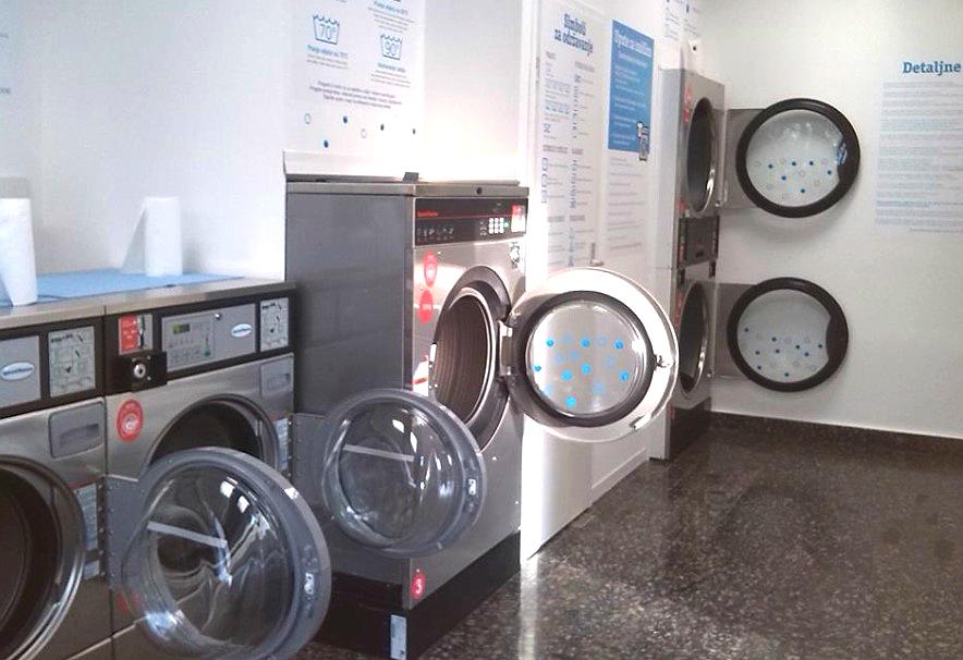 Pranje i sušenje odjeće, rublja Rijeka