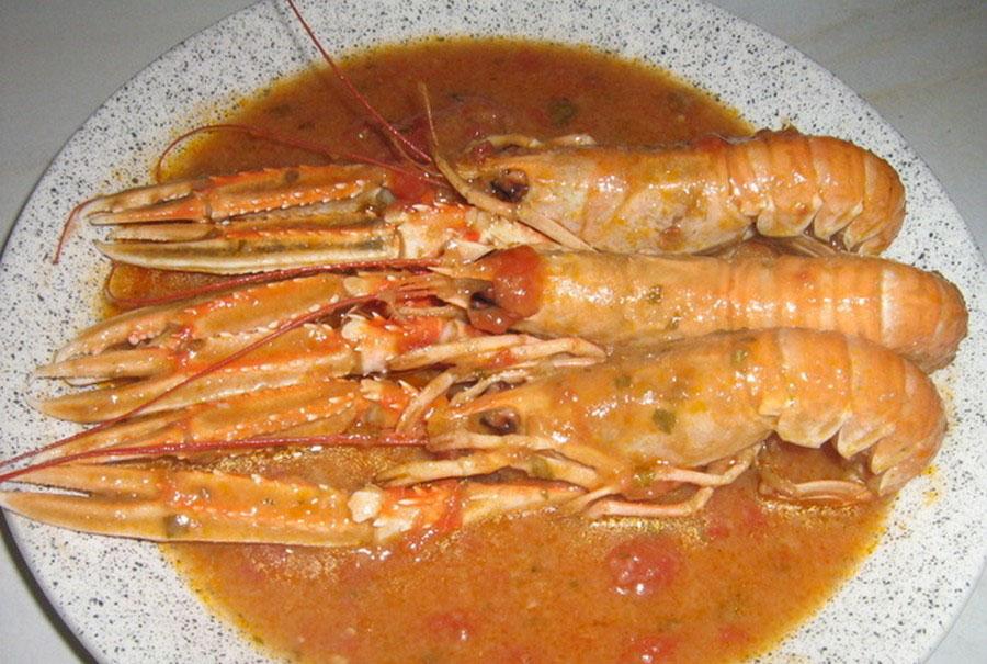 Gostionica Laguna, Rab, riblja jela