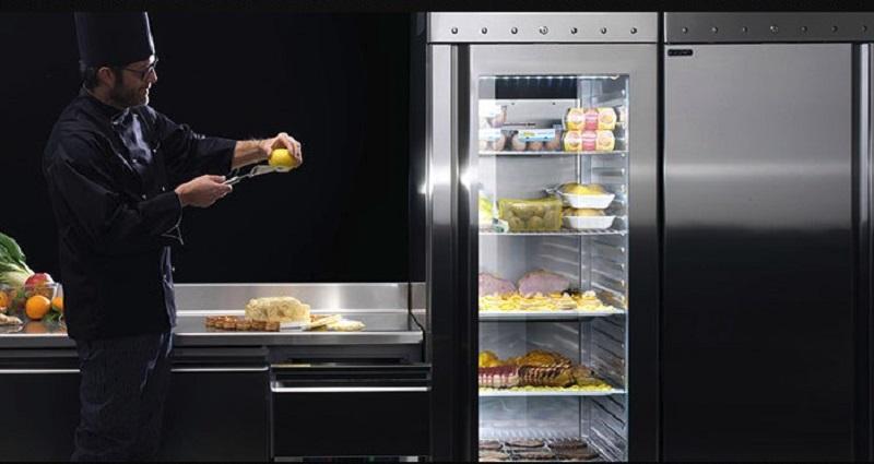 Profesionalna ugostiteljska oprema, kombinirani hladnjak, Rijeka