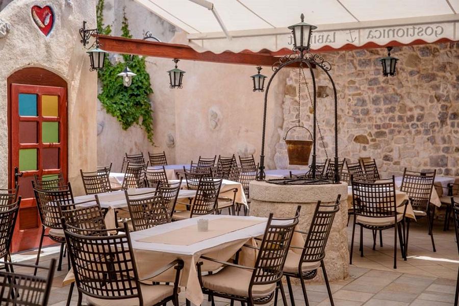 Riblji restoran, Rab, domaća kuhinja