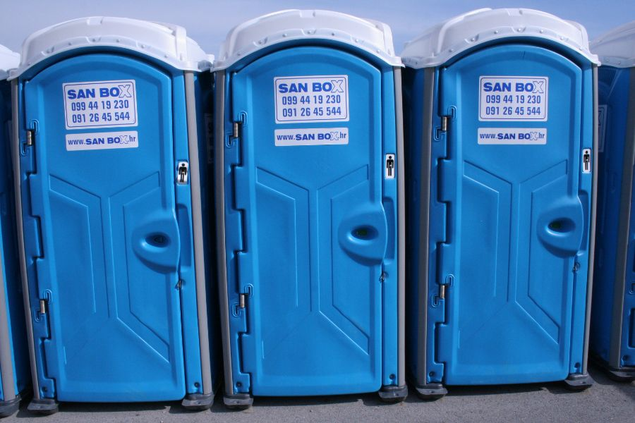 Mobine WC kabine