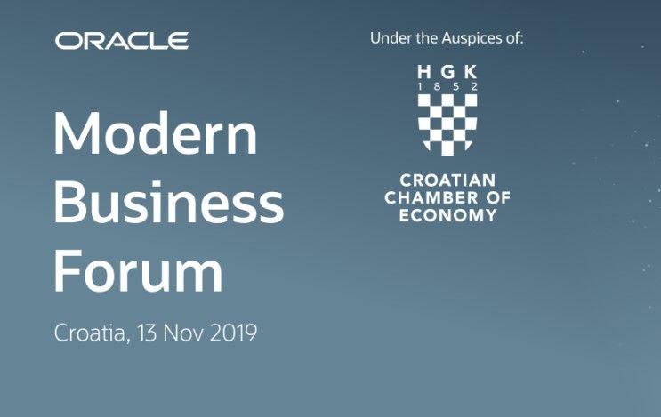 Prijavite se na Oracle Modern Business Forum: Budućnost poslovanja u financijama, HR-u, marketingu i prodaji