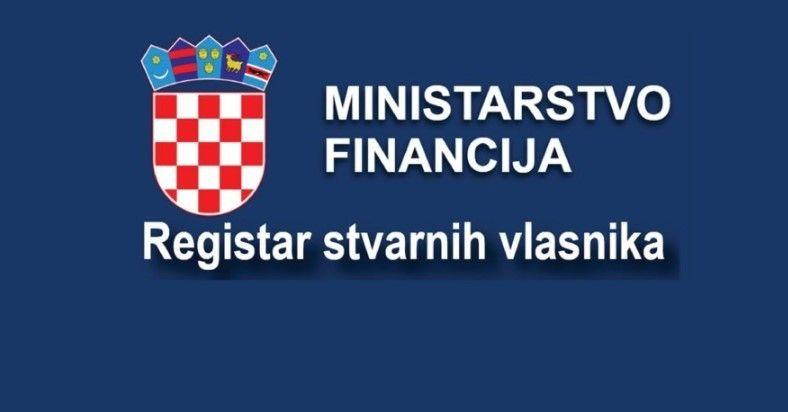 Rok za upis u Registar stvarnih vlasnika je 31. prosinca 2019.
