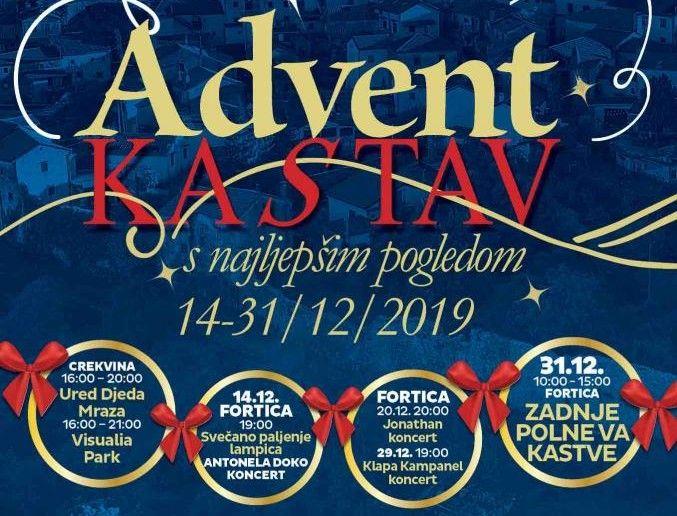 """""""Advent s najljepšim pogledom"""" čeka nas na Kastvu"""