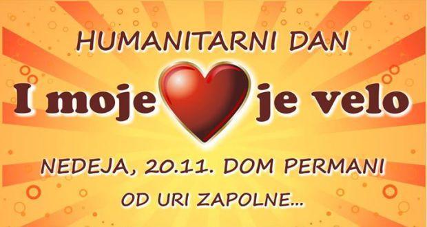Humanitarni dan: I moje je srce velo