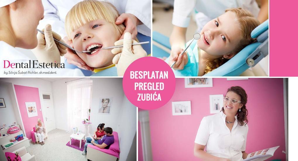 Besplatan pregled zubića predškolarcima - DENTAL ESTETICA RIJEKA