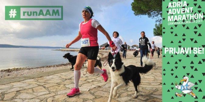 7. Adria Advent Maraton – Utrka šapa za Dominikov osmijeh