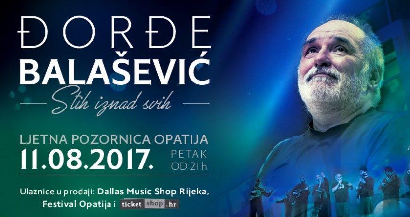 Uskoro koncert Đorđe Balaševića