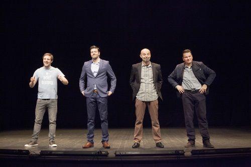 Kazališna predstava: Muškarci.hr