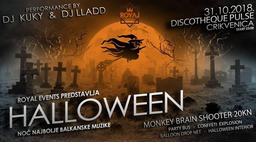 Halloween party u Crikvenici