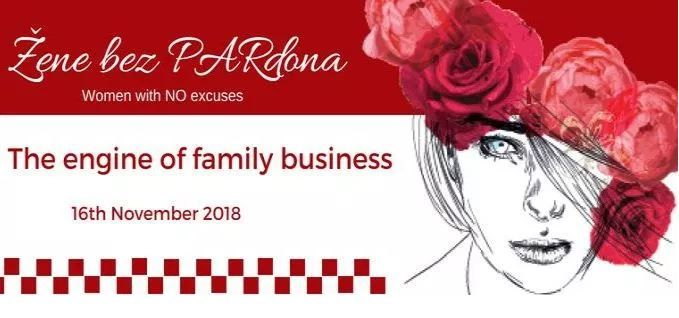 "Žene bez PARdona 2018. ""The engine of family business"""