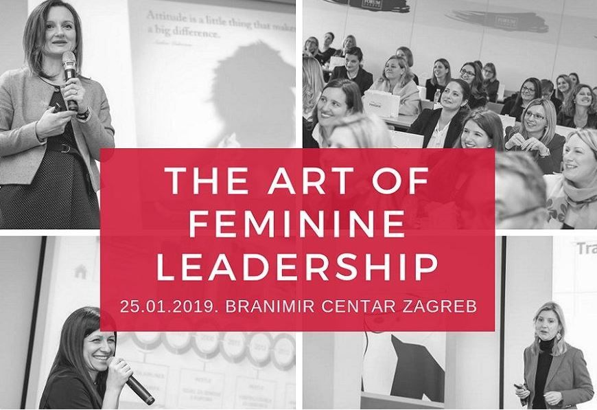 Prijavite se na konferenciju The Art of Feminine Leadership 2019.