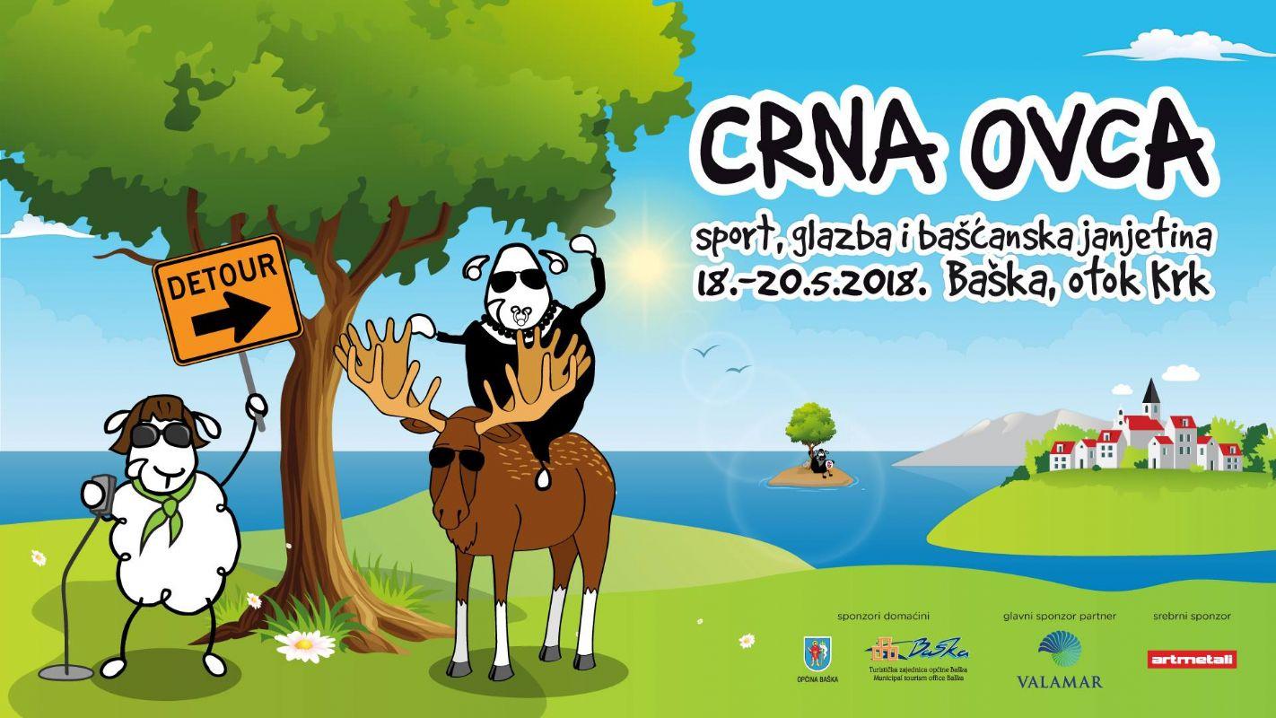 Popularna  Crna ovca  i ove godine u Baški