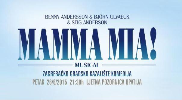 Mjuzikl Mamma mia! na Ljetnoj pozornici u Opatiji