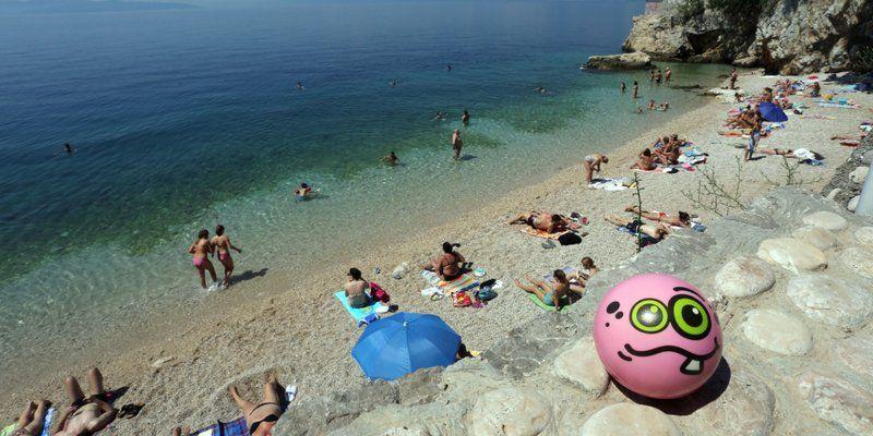 Riječka plaža Sablićevo među četrdeset najljepših u Hrvatskoj!