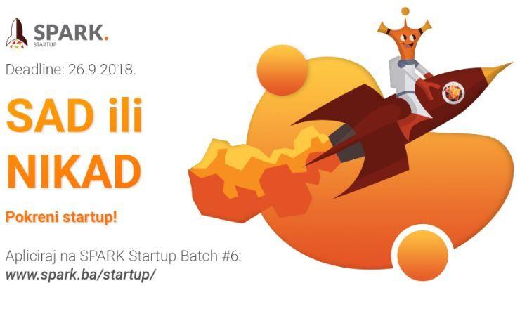 Spark Startup Batch - otvorene prijave!