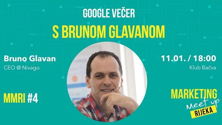 Google večer s Brunom Glavanom