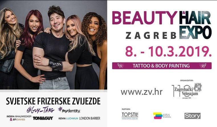 Sutra počinje Beauty & Hair Expo Zagreb  - najveći regionalni sajam ljepote