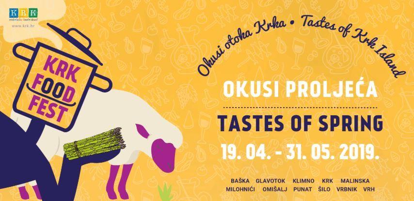 Krk Food Fest - Okusi proljeća