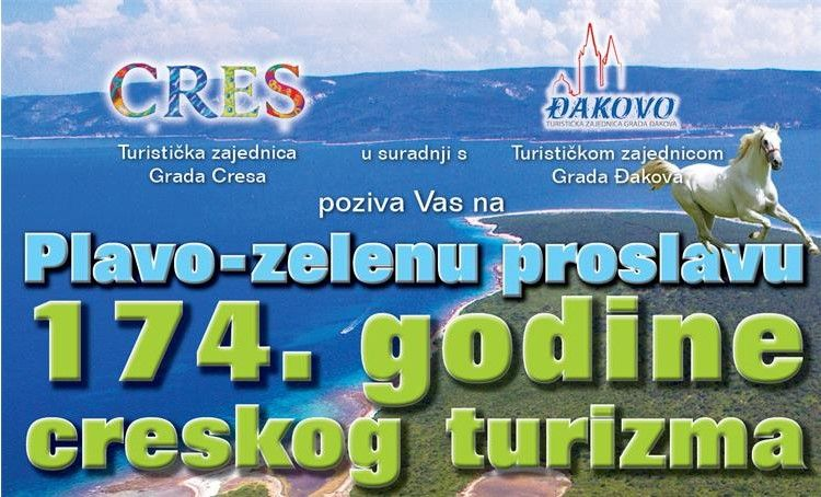 Dan turizma u Cresu – plavo-zelena proslava 174. godine creskog turizma