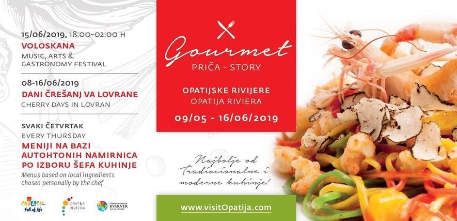 Gourmet priča Opatijske rivijere