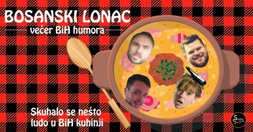 Bosanski Lonac  stand up večer u Rijeci