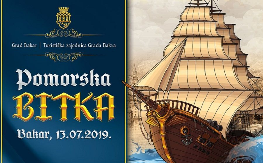 Pomorska bitka - uprizorenje slavne pobjede Bakrana