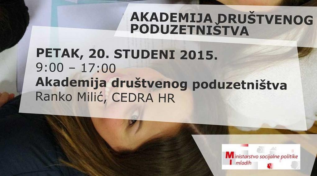 Dvodnevni forum za mlade o društvenom poduzetništvu